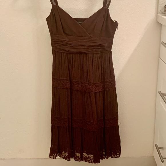 BCBGMaxAzria Dresses & Skirts - BCBG MaxAzria Brown Dress
